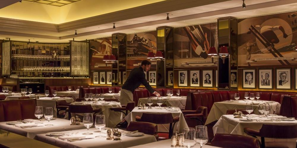 Review the colony grill at the beaumont hotel mayfair for American cuisine in london